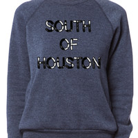 Bow & Drape, SOHO, nyc, new york city, south, houston, custom, pride, sequin, weekend wear, loungewear, sweatshirt, cozy, lazy