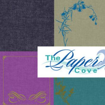 The Denim Collection Digital Paper Pack, 8 Pages
