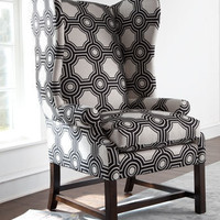 """Blakely"" Wing Chair - Horchow"