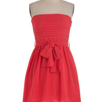 Ultra Marina Dress in Coral | Mod Retro Vintage Dresses | ModCloth.com