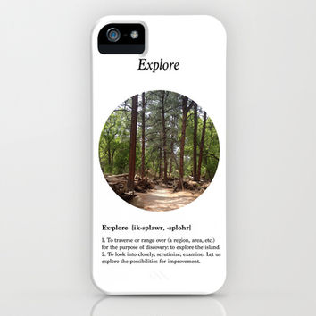 Explore iPhone & iPod Case by Halfmoon Industries
