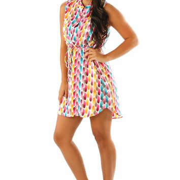 Sweet Like Candy Dress: Multi
