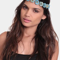 Morning Glory Floral Headband