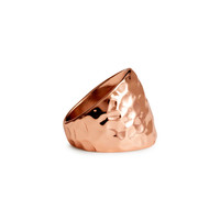 H&M - Hammered Ring -