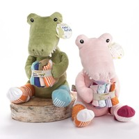 Croc in Socks - Plush Crocodile & Baby Socks Gift Set