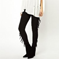 MP High Waist Pants with Tassels Detail 051362 NDP 0705
