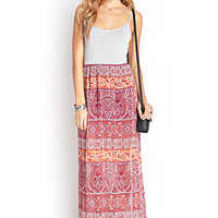 Paisley Maxi Cami Dress