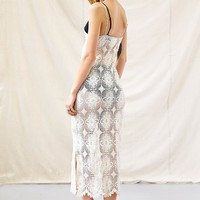 American Vintage Picnic in the Park Lace Maxi Dress - Urban Outfitters