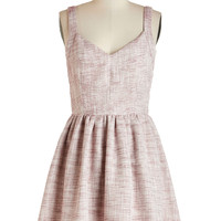 ModCloth Americana Sleeveless A-line The Port the Merrier Dress in Wine