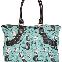 Mermaids & Sailors Tote Bag - PLASTICLAND
