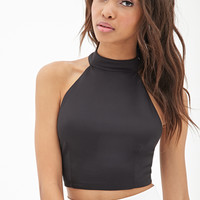 Scuba Knit Halter Top