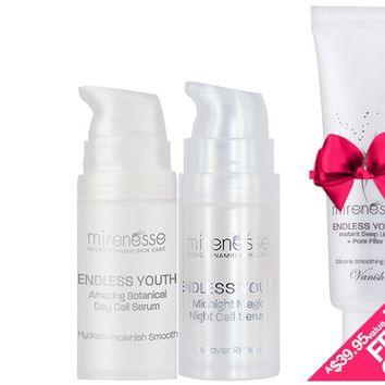 *SP Endless Youth Miracle Mini's + BONUS DEEP LINE AND PORE FILLER - Mirenesse