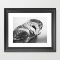 Hoot Framed Art Print by Beth Thompson | Society6