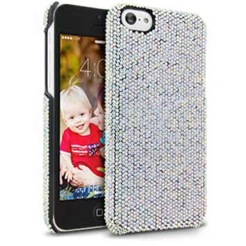 DeBari Crystaria Case for Apple iPhone 5C - Crystal AB