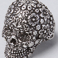 The Pirates Glamour Skull Ring in Silver by Disney Couture Jewelry | Karmaloop.com - Global Concrete Culture