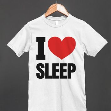 I HEART LOVE SLEEP T-SHIRT ID790840