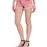Joe's Jeans Women's Rigid Distressed Cut Off Short