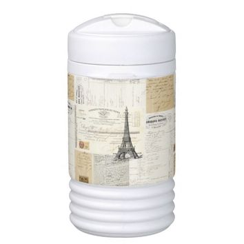 Vintage Paris French Ephemera Cooler