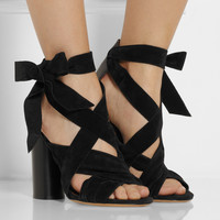 Isabel Marant - Amelia suede and leather sandals