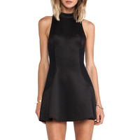 Cameo Up The Wall Dress in Black