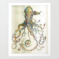 The Impossible Specimen Art Print by Will Santino