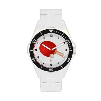 TABLE TENNIS (PING PONG) Stainless Steel Watch