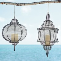 Wire Lanterns