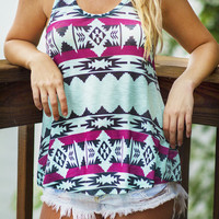 Tribal Charmed Tank