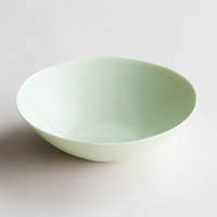 Yuko Porcelain Deep Plate in Green