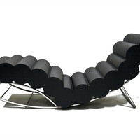 UPHOLSTERED LOUNGE CHAIR WIGGLEWORM | SIXINCH