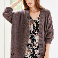 Pins And Needles Grunge Cardigan - Urban Outfitters