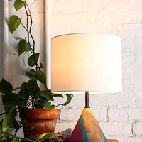 Magical Thinking Painted Cone Lamp- Multi One