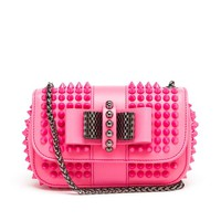 CHRISTIAN LOUBOUTIN | Sweet Charity Spiked Leather Shoulder Bag | Browns fashion & designer clothes & clothing