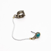 Free People Womens Cuff to Stud Earring -