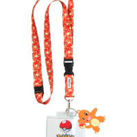 Pokemon Charmander Lanyard