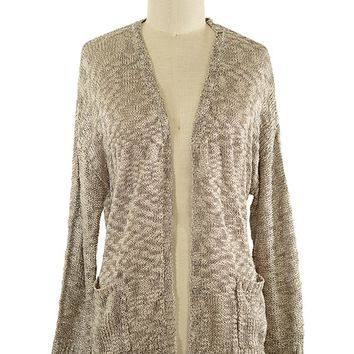 Perfect Harmony Cardigan in Beige
