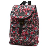 Vans Multi Floral Nova Backpack (Black/True White)
