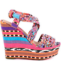 Betsey Johnson's Multi-Color Busta - Neon