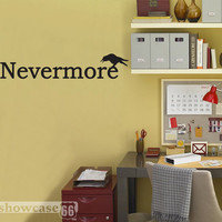 Nevermore Vinyl Wall Art FREE Shipping Literature by showcase66