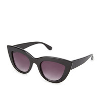 Angular Cat-Eye Sunglasses