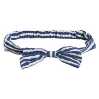 Striped Bow Headband - Aeropostale