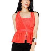 Papaya Clothing Online :: CROCHET LACY TOP