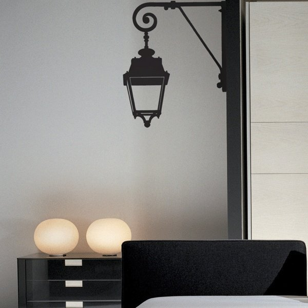 Parisian Lantern Wall Stickers Decals by Couture Deco
