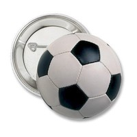 Soccer Ball Button from Zazzle.com