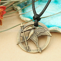 The hunger games necklace with Katniss arrow pendant by luckyvicky