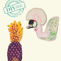 Bird & Pineapple Patch Set - Indego Africa
