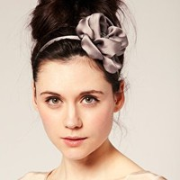 Blakegodbold | Blakegodbold Crepe Satin Flower Head Band at ASOS