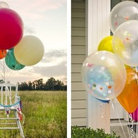 17 Inch Round Balloons - Set of 5 with 19 Color Choices!