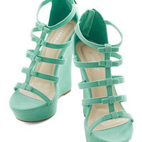 ModCloth Statement Ice Cream Social Butterfly Wedge