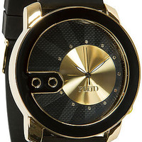 The Exchange Watch in Black and Gold